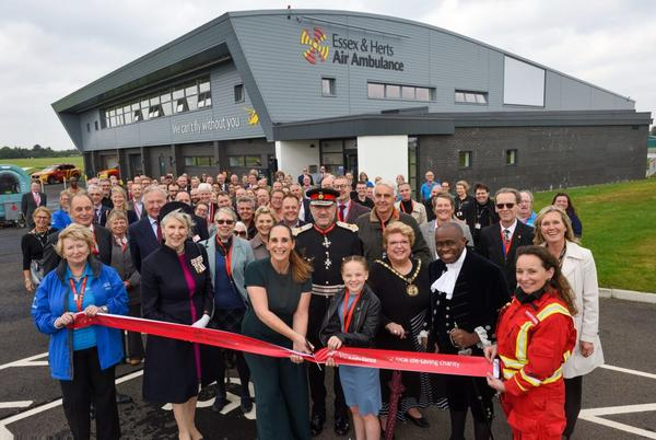 Picture for New Airbase for Essex and Herts Air Ambulance is officially opened