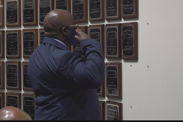 Picture for Hall of Fame induction bittersweet for family of Lee County officer who died of COVID-19