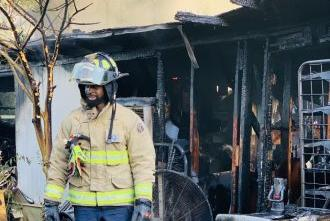 Picture for House fire leaves family homeless