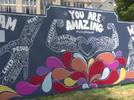 Picture for New mural at White Plains funeral home reminds residents to thrive forward