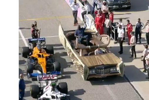 Picture for Shaq Arrives At U.S. Grand Prix In A Wild Custom Cadillac