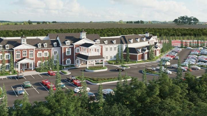 Cover for Area plan commission approves Holliday Farms clubhouse