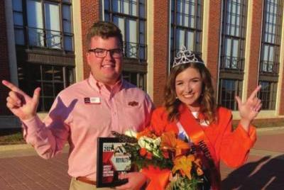Picture for Cushing alum selected as OSU royalty