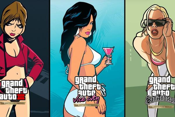 Picture for GTA Trilogy individual game sizes revealed