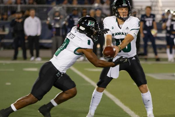 Picture for Hawaii football runs out of gas in 34-17 loss at Nevada
