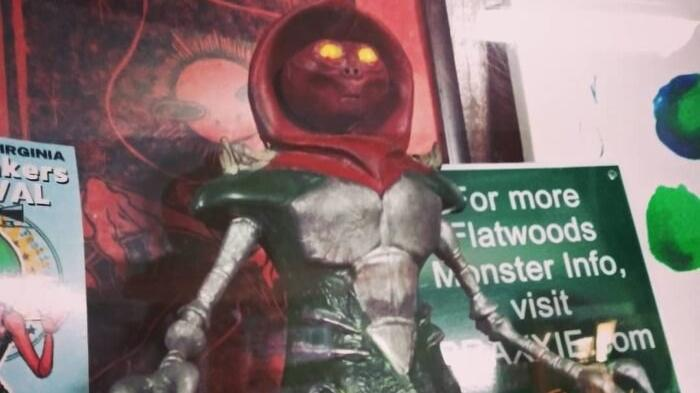 Picture for A Creepy And Iconic Local Legend, The Flatwoods Monster Has Its Own Bizarre Museum In West Virginia