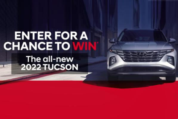 Picture for Hyundai Tucson Giveaway