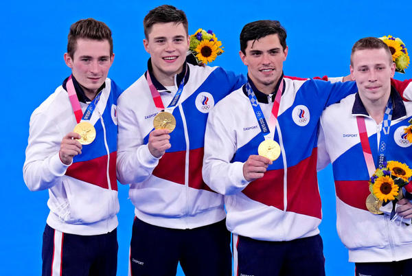 Picture for Russian Athletes Edge Japan for Men's Gymnastics Gold Medal