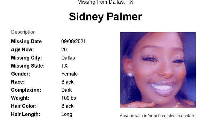 Cover for Dallas Police Still Searching for Sidney Palmer, Now Missing for Over Three Weeks