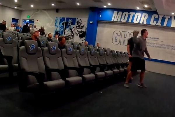 Picture for Detroit Lions hold watch party to support Olympic hurdler Melissa Gonzalez, wife of QB David Blough