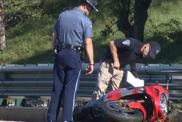Picture for Police investigating motorcycle crash in Boston