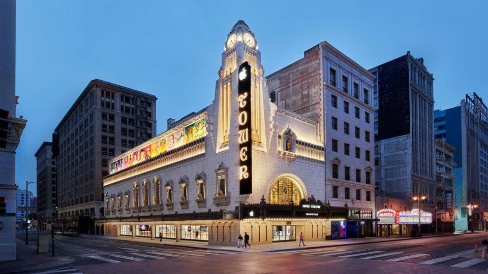 Picture for Apple's Magnificent New Downtown L.A. Store At The 1920s Tower Theatre Is Open