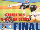Picture for Otters sweep Saturday doubleheader against Miners