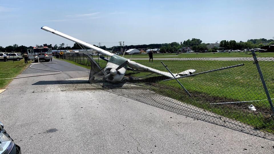Picture for Authorities Investigate Plane Crash in Edgewater