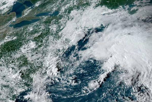 Picture for Tropical storm forms off coast of Massachusetts, New England