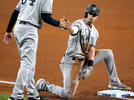 Picture for Yankees' Tyler Wade comes up with big plays in Corey Kluber's no-no