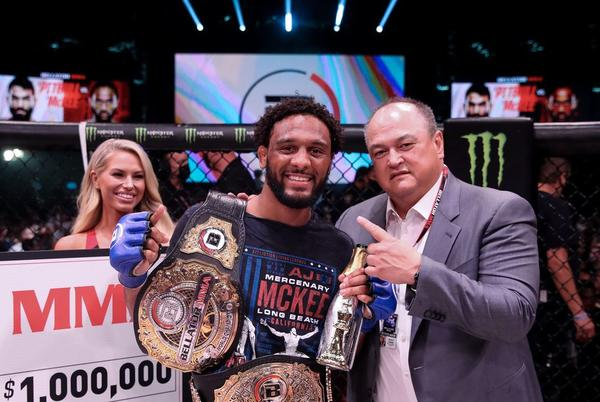 Picture for Scott Coker sees CBS, pay-per-view cards in future for new Bellator champion A.J. McKee