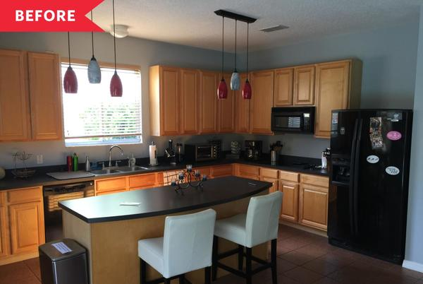 Picture for Before and After: A Sleek $25,000 Revamp Takes This Kitchen Out of the 2000s