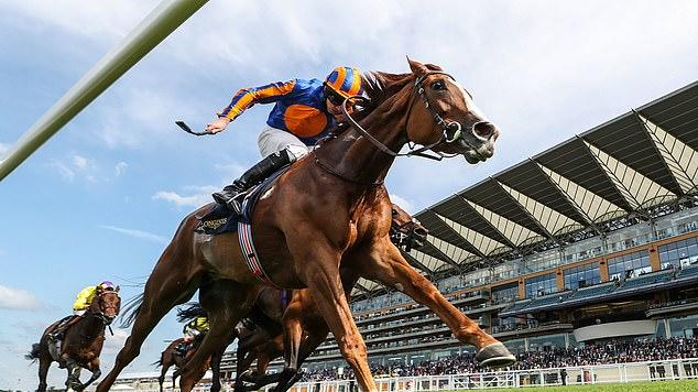 Picture for Love digs deep to hold off Audarya and win the Prince of Wales's Stakes and give trainer Aidan O'Brien a 75th career victory at Royal Ascot