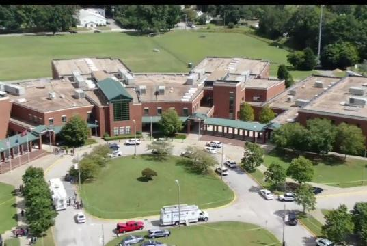 Picture for 2 students taken to hospital after shooting at Heritage High in Newport News, suspect now in custody