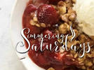 Picture for Simmering Saturdays: Strawberry Crumble