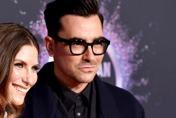 Picture for 'Schitt's Creek' star Sarah Levy is married! No one's happier than brother Dan Levy