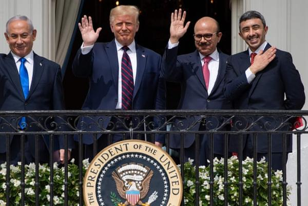 Picture for UAE, Bahrain and Israel sign historic accords at White House event