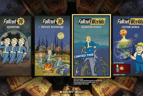 Picture for Fallout 76 Fallout Worlds now available; here's what to expect
