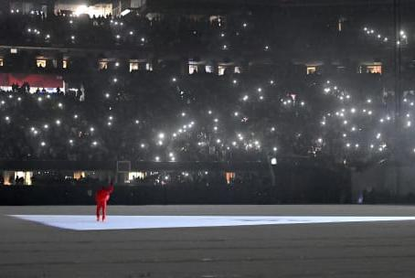 Picture for Kanye Arrives Nearly Two Hours Late for 'Donda' Listening Party, Then Says Nothing