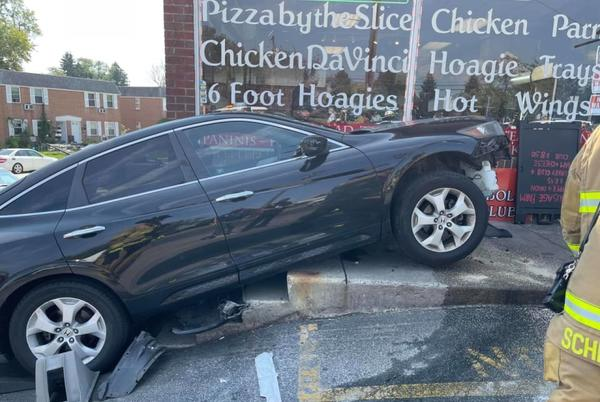 Picture for Driver Hospitalized After Crashing Into DelCo Pizzeria