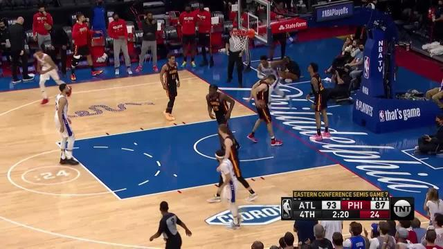 Picture for Philadelphia 76ers   Tobias Harris (24 points) Highlights vs. Atlanta Hawks