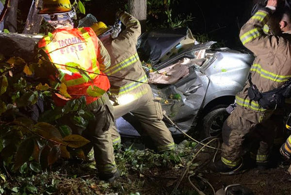 Picture for Authorities: 1 killed after car flips multiple times off roadway