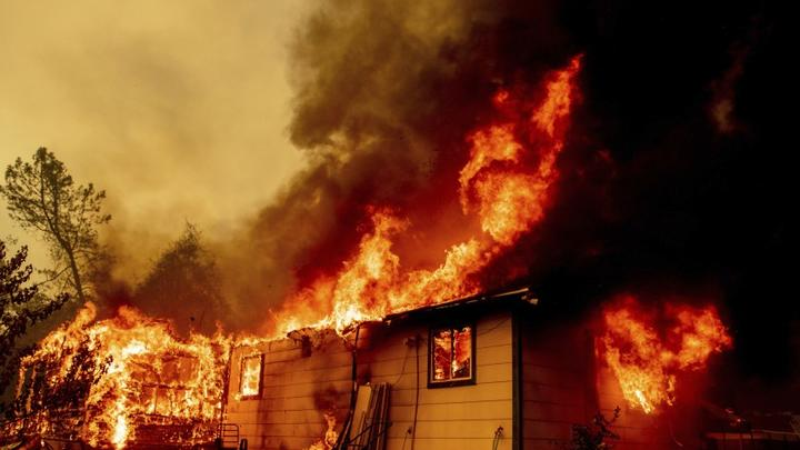 Cover for Crews scramble to make progress against California wildfires