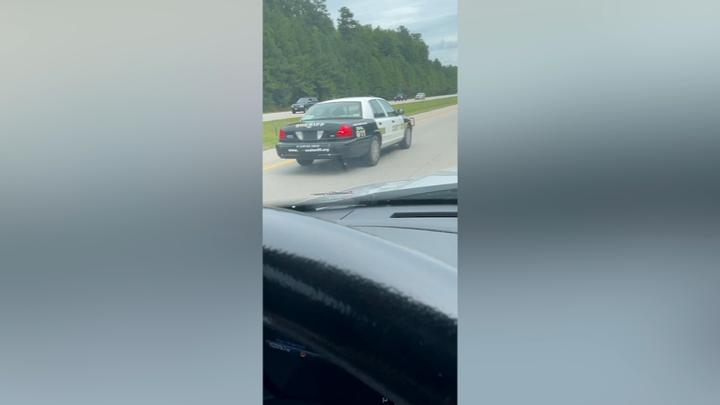 Cover for 24-year-old man arrested in Wake County for allegedly impersonating deputy, attempting traffic stops
