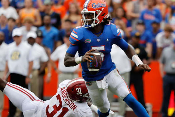 Picture for Florida vs. Tennessee odds, line: 2021 college football picks, Week 4 predictions from model on 72-58 run