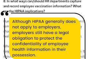 Picture for UPDATE: HIPAA (mis)information and the Covid vaccine