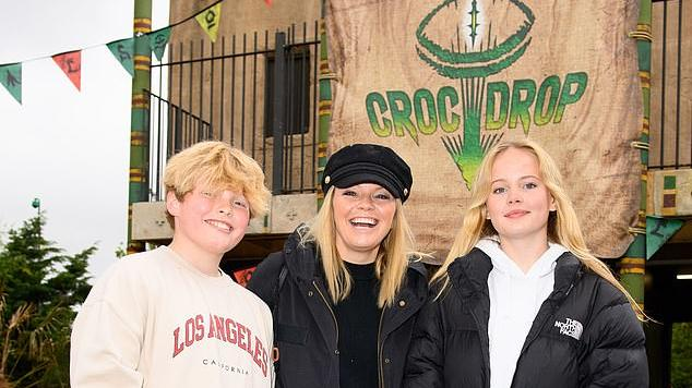 Picture for Kate Thornton enjoys day out with her son at Chessington World Of Adventures alongside other celebrities including Antony Costa as park reopens after lockdown