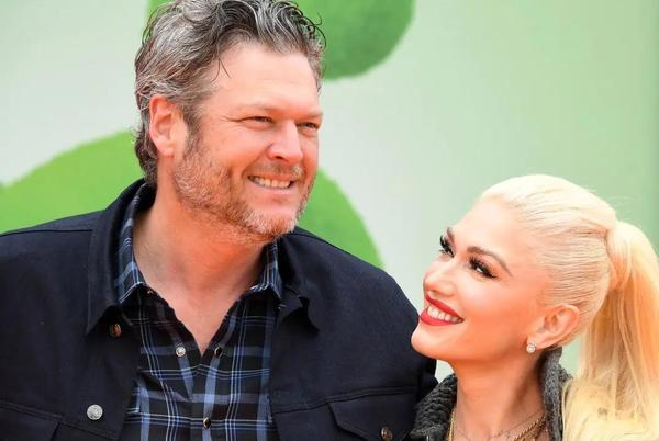 Picture for Gwen Stefani praises husband Blake Shelton as the pair celebrate happy news