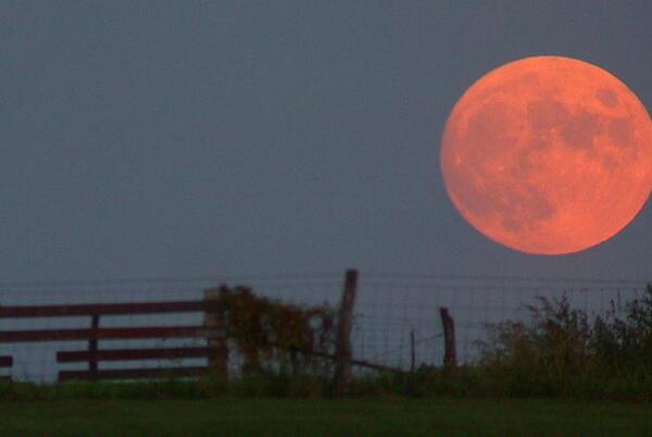Picture for Full Harvest Moon, Sept. 20, 2021