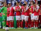 Picture for Danish dart: Kasper Schmeichel complained about UEFA pressure to resume the match after Eriksen fainted