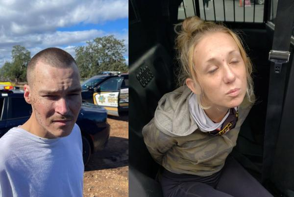 Picture for 2 arrested in Redding after vehicle chase injures officer