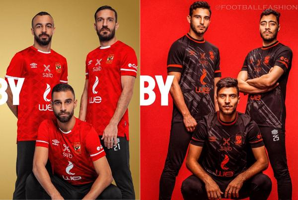 Picture for Al Ahly SC 2021/22 Umbro Home and Away Kits