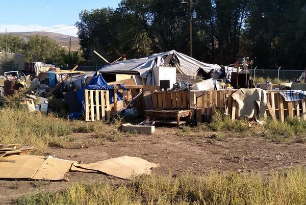 Picture for City targets 'blight' at homeless campground