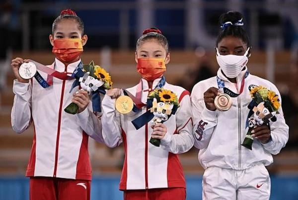 Picture for Simone Biles wins bronze in balance beam after withdrawing from other Tokyo Olympics events
