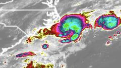 Cover for Tropical Depression 2 rapidly develops off N.C. coast