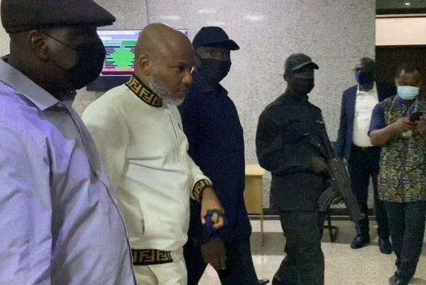 Picture for Nnamdi Kanu: Nigeria separatist pleads not guilty to terrorism