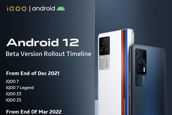 Picture for iQOO releases Android 12 beta rollout schedule for its devices