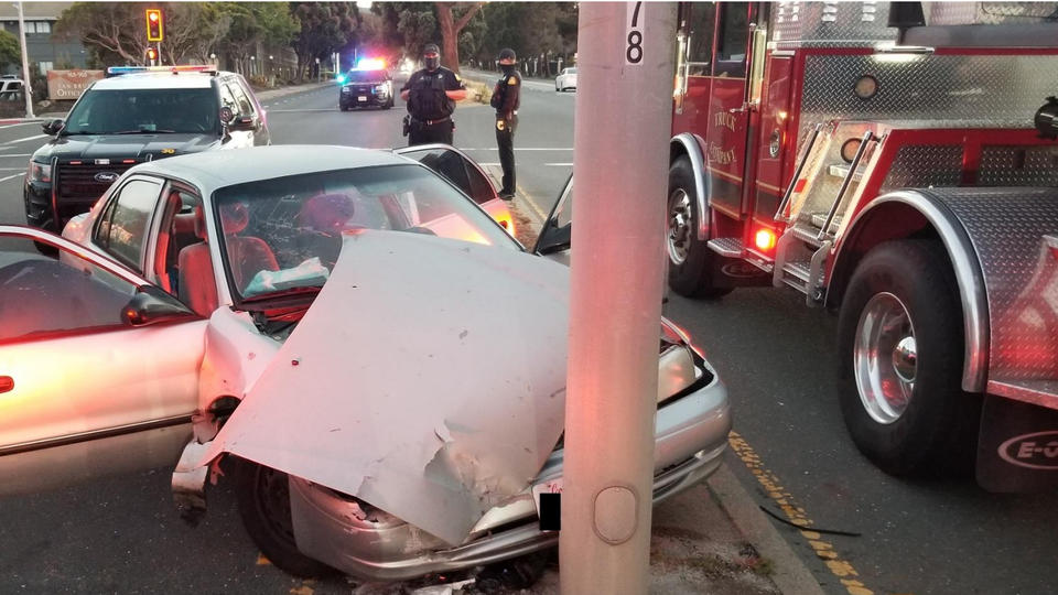 Picture for Drunk mother crashes car injuring her two kids, then attacks arresting officers, police say