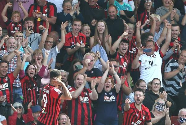 Picture for How Bournemouth's attendances compare with Nottingham Forest, Fulham and Championship rivals