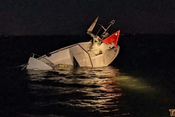 Picture for UPDATE: Coast Guard, Fire Department rescue 6 from boat crash